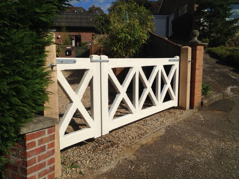 Fridaywood Gates Designed Gate