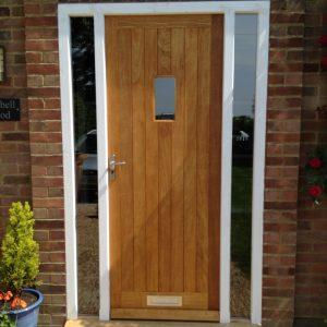 Idigbo exterior door